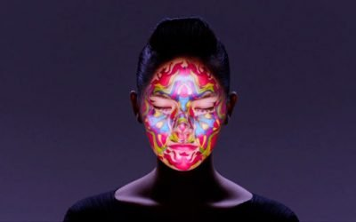Maquillaje electrónico de Nobumichi Asai