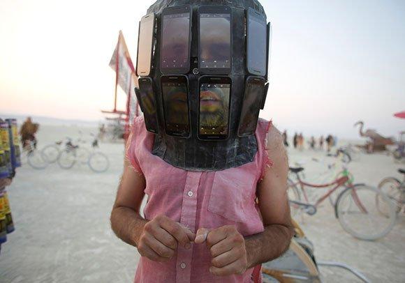 La locura creativa del Festival Burning Man en Nevada