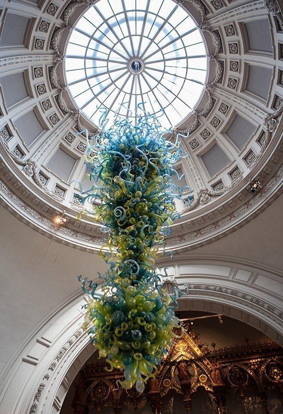 Dale Chihuly en el Victoria & Albert Museum de Londres