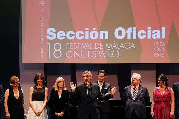 Inauguración del VIII Festival De Cine Español De Málaga
