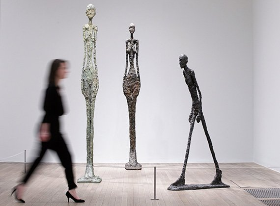 Alberto Giacometti en el Tate Modern de Londres