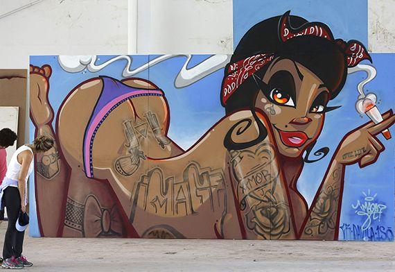 III Bienal Internacional de Graffiti en Sao Paulo