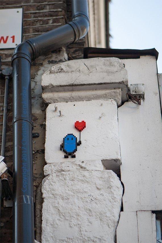 Arte urbano: intervención con Lego en Candem, Londres.