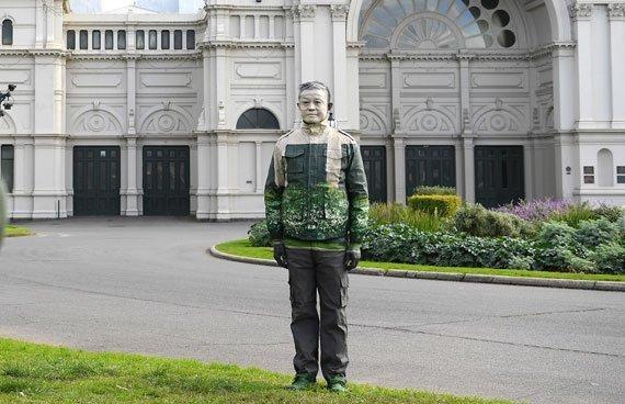 El camuflaje urbano de Liu Bolin
