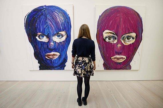 «Inside Pussy Riot» de Lusine Djanyan en la Saatchi Gallery