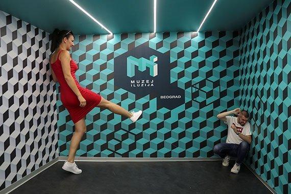 Museo de las Ilusiones de Belgrado