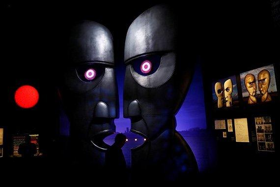Pink Floyd en el Victoria & Albert Museum de Londres