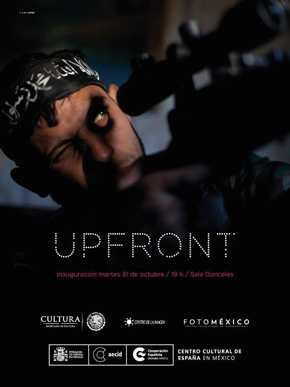 Upfront, el trabajo de los fotorreporteros de guerra