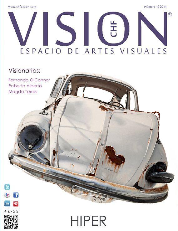 Ya está en línea el número 16 de VISION – Especial Hiperrealismo