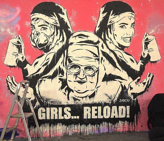 Récord Guinness de grafiti femenino
